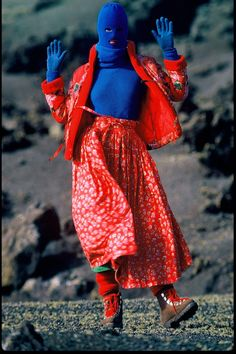 Kenzo campaign, 1983 - Depth of Field: Hans Feurer - The Cut