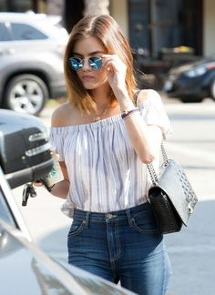 Lucy Hale Candids
