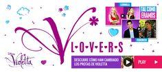 WEB OFICIAL DE VIOLETTA PARA V-LOVERS COMO TÚ / DISNEY CHANNEL ESPAÑA