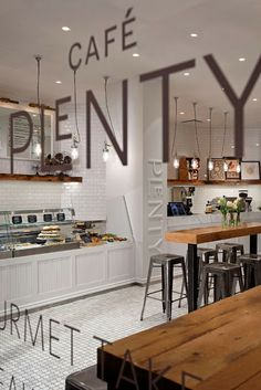 Cafe Plenty - Toronto, Canada via Kaper Design