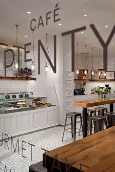 Cafe Plenty - Toronto, Canada via Kaper Design