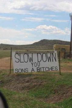 Via Oklahoma. | Funny Signs