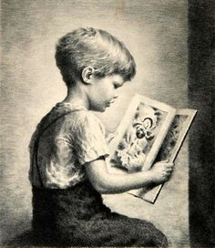 James Chapin, Picture Book - Boy Reading