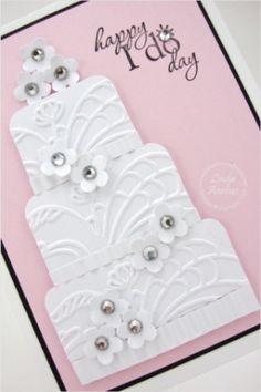 Pretty wedding card. by jaclyn