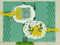 Work of Art and Label Card Thinlits Die by tyque - Cards and Paper Crafts at Splitcoaststampers Flip Cards, Cool Cards, Stampin Up, Workshop, Card Making, Label, Paper Crafts, Stamp Sets, Sayings
