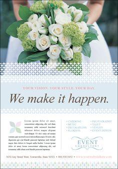Wedding Planner Brochure Samples