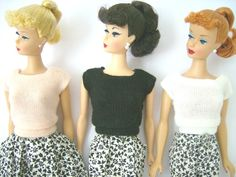 Square Neck Sweater fashion  The Fashions of 1962 - Barbie Teenage Fashion Model