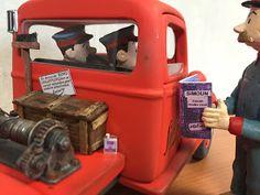 treuil arrière avec balais dépanneuse Simoun Tintin atelier christian Moreau