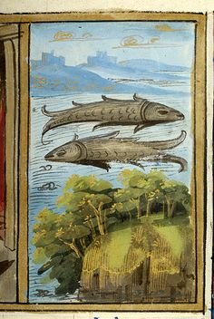 Pisces; Psalter | France, Paris, between 1495 and 1498 | The Morgan Library & Museum