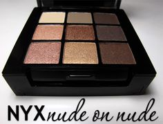 So Who's Duping Whom? The NYX Nude on Nude Natural Look Kit vs. Urban Decay Naked