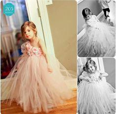Flower girl dress! Tutu. Wedding ideas