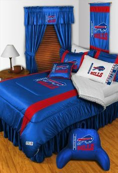 BUFFALO BILLS TWIN COMFORTER Bedding New NFL Boys Football by Dream Time Kids Bedding. $70.21