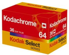 """"""" Kodak announces that it will no longer manufacture Kodachrome Color Film due to declining demand. Film Photography Tips, Photography Supplies, Still Photography, Vintage Photography, Digital Photography, Photography Equipment, Kodak 35mm Film, Photographic Film, Classic Camera"""