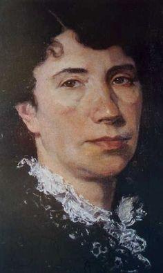 Retrato de Rosalía de Modesto Brocos. culturagalega.org