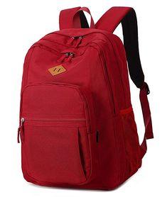 3e2ef61e9b77 Abshoo Girls Solid Color Backpack For College Women Water Resistant School  Bag (Red) red. LaptophátizsákUtazó HátizsákCsütörtök