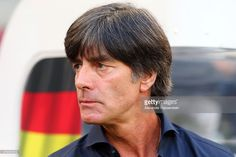 Joachim Loew, head coach of Germany looks on prior to the international friendly…