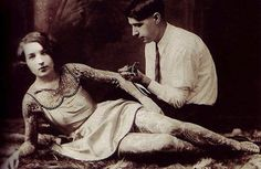 Vintage Photos Of Women With Tattoos | The Mary Sue