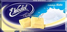 Wedel White Chocolate Bar - Czekolada Biala (100g) Bad Room Ideas, Chocolate Brands, White Chocolate, Nom Nom, Goodies, Polish, Bar, Food, Box Lunches