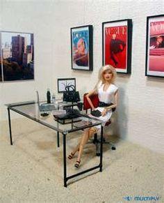 Barbie is the Fashion Agency receptionist.,,  http://www.dolldivas.net