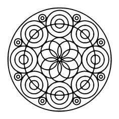 41 Best Lets Color Mandalas Images Mandala Coloring