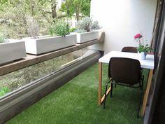 Artificial Grass Gallery   An Attractive Balcony.