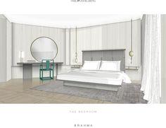 Yabu Pushelberg, Thing 1, Modern Mansion, Best Hotels, Guest Room, Master Bedroom, House Design, Interior Design, Furniture