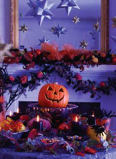 Glittery Halloween party.