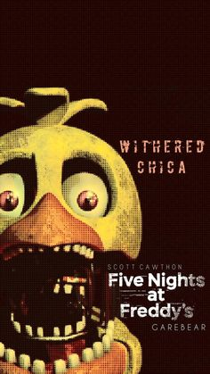 Withered Chica by on DeviantArt Five Nights At Freddy's, Freddy S, Fnaf Jumpscares, Alice In Wonderland Drawings, Fnaf Wallpapers, Power Rangers Movie, Fear Of The Dark, Fnaf Characters, 2 Kind