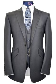 The Hutchison Slate Grey Suit