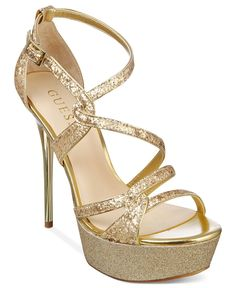 GUESS Womens Shoes, Duriany Platform Sandals - Shoes - Macys