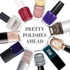 11 Best Fall 2014 Nail Polish Colors - Nail Shades Fall 2014 - Harper's BAZAAR