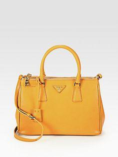 Prada Saffiano Lux Small Tote Bag- Nero Black...soon
