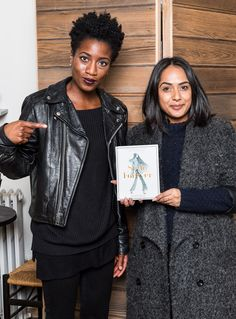 Hardeep and Love, at the Style Forever NYC party
