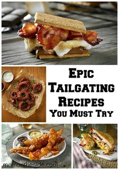 Epic Tailgating Recipes You Must Try and the Red Hot Chiefs Tailgate Experience Sweepstakes for the chance to win a one-of-a-kind tailgating experience. Summer Grilling Recipes, Tailgating Recipes, Tailgate Food, Lunch Recipes, Appetizer Recipes, New Recipes, Dinner Recipes, Favorite Recipes, Tailgate Parties