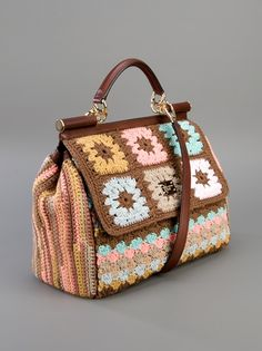 DOLCE & GABBANA - Crochet Shoulder Bag 10