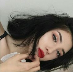 Korean Girl icons tumblr/ulzzang @안느