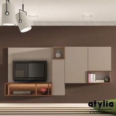 Meuble mural TV Marissa ATYLIA Editions