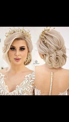 Oval Face Hairstyles, Braided Hairstyles, Wedding Hairstyles, Cool Hairstyles, Hair Design For Wedding, Romantic Wedding Hair, Bridal Hair And Makeup, Hair Makeup, Bridesmade Hair