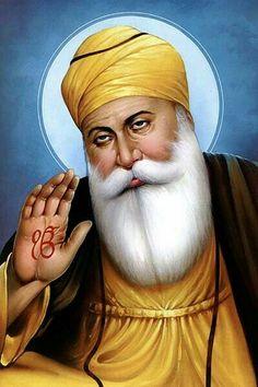 Guru Nanak Photo, Guru Nanak Ji, Nanak Dev Ji, Guru Nanak Teachings, Baba Deep Singh Ji, Easy Love Drawings, Guru Nanak Wallpaper, Guru Nanak Jayanti, Radha Soami