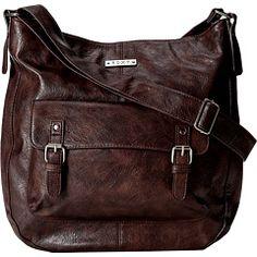 Roxy easy street shoulder bag mustang brown 9083d261a8755
