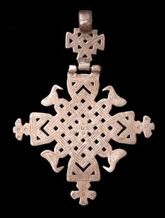 African currency Ethiopian Coptic cross