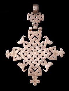 African currency Ethiopian Coptic cross