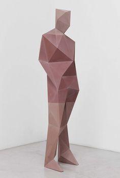 Xavier Veilhan scultpure Geometric man