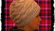 1 Hat-trvá, pletené / pletení klobouk - YouTube