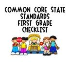 Due to popular demand I create the First Grade Common Core State Standards Checklist! I have used the K version of this tool and it has been invalu...