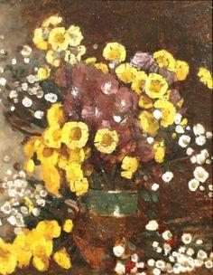 Poetul plastic al florilor, Ștefan Luchian Post Impressionism, Van Gogh, Flower Art, Still Life, Art Gallery, 1 Februarie, Dutch, Flower Paintings, Masters