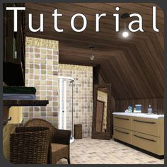 simension - Tutorial: CaSTable ceiling slope for attic rooms #Sims3