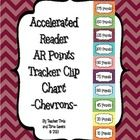 Accelerated Reader (AR) Points Goal Tracker Clip Chart - Cute Chevrons  This adorable AR Clip Chart is a simple solution to motivating your student...