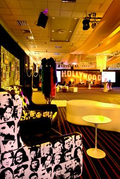 'The Land of Dreams'- Hollywood Theming- The Prop House #ThePropHouse #Hollywood #Events #Theming #Styling #TinselTown