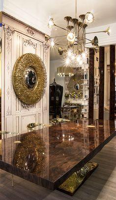 Maison et Objet Paris - best home inspiration ideas by Boca do Lobo Art Furniture, Luxury Furniture, Furniture Design, Spiegel Design, Dining Room Design, Dining Rooms, Dining Table, Luxury Interior Design, Home Decor Trends